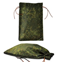 Подарочный мешок цвета хаки, большой (180х290мм) - фото 101664