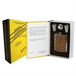 """Книга-шкатулка """"Правила устройства энергоустановок"""" (металл. фляга со стопками и воронкой) - фото 13173"""