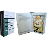 Книга-шкатулка (фарфоровый штоф Строитель)