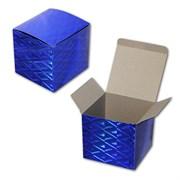 Коробочка под кружку (синяя)
