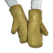 Зимние солдатские рукавицы (двухпалые)