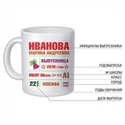 """Кружка """"Выпускница"""""""
