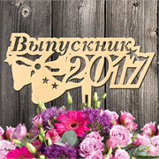 "Топпер ""Выпускник 2017"""