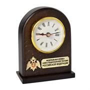 """Настольные деревянные часы """"Росгвардия РФ"""""""